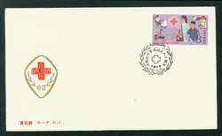 1984 May 29 First Day Cover franked with Scott 1915 PRC J102